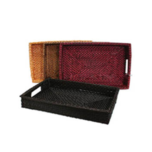 Rectangle Rattan Tray