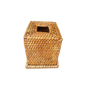 Wicker Tissue Box