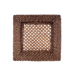 Square Rattan Charger Plate