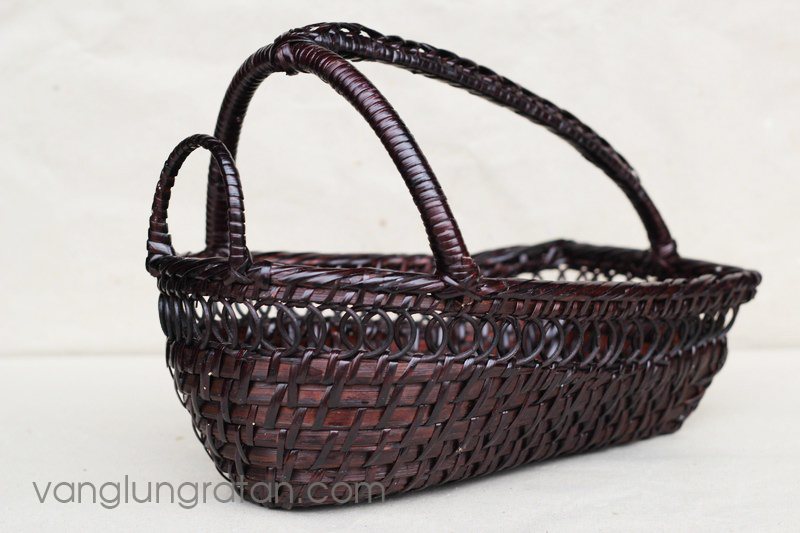 Wine holder basket - 25x16xH8/19cm