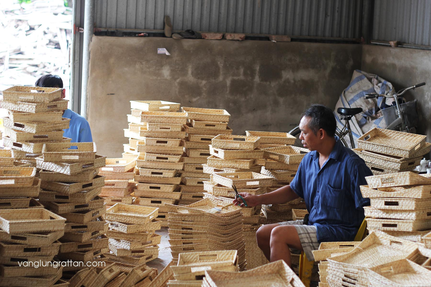 Bamboo Rattan - Traditional handicraft village