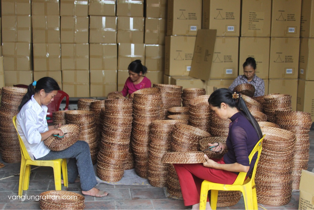 Vang Lung Rattan is from traditional bamboo rattan village
