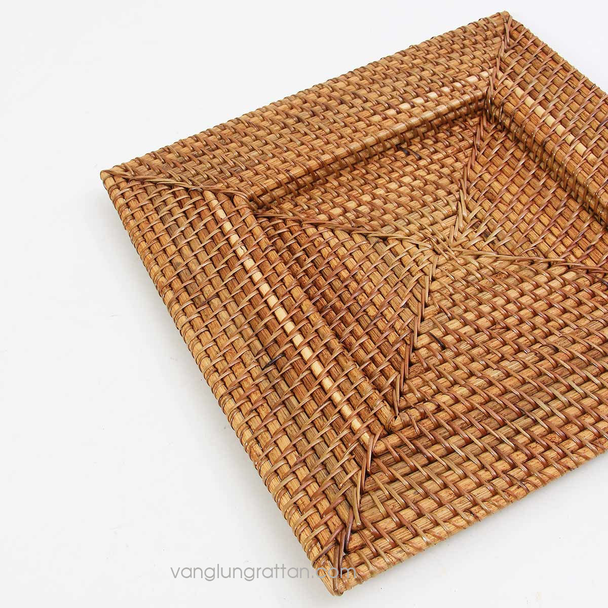 Rattan Charger Plate 33x33xh2cm
